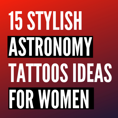 stylish Astronomy Tattoos