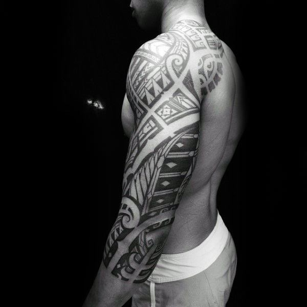 tribal tattoo designs on shoulder