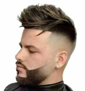 temporary types of beards short design