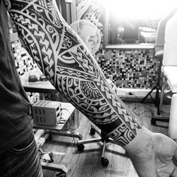 tribal tattoo designs sleeve