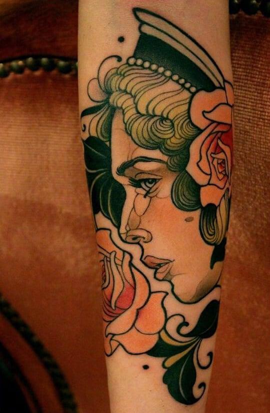 Fantastic Half and Full Sleeve Tattoos