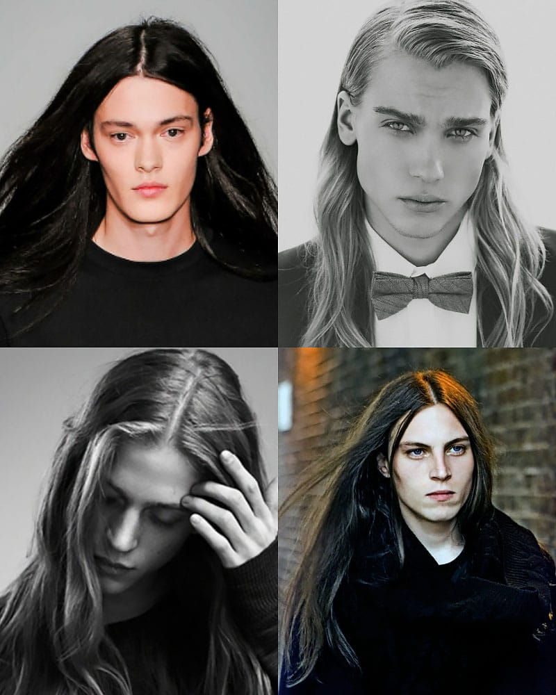 Irresistibly Sexy Long Hairstyles for Men