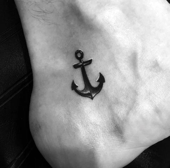 Ankle Tattoos For Men - Masculine Design Ideas