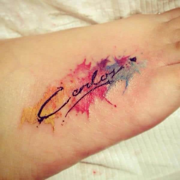 Popular Collection of Name Tattoos