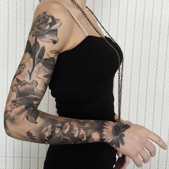 Unreal Half Sleeve Tattoos All Women Will Fall In