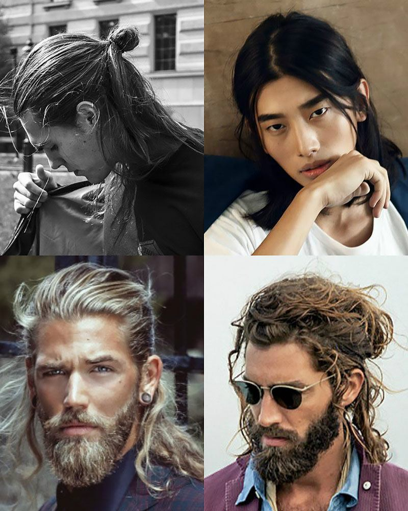 Irresistibly Sexy Long Hairstyles for Men  and guys