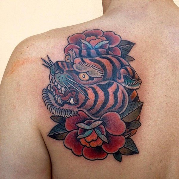 Most Incredible and Eye-Catching Tiger Tattoo Designs