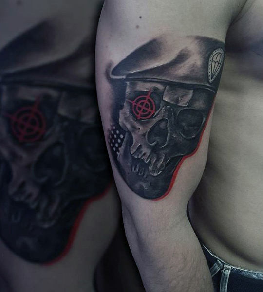 Special Forces Tattoo Top United States Army