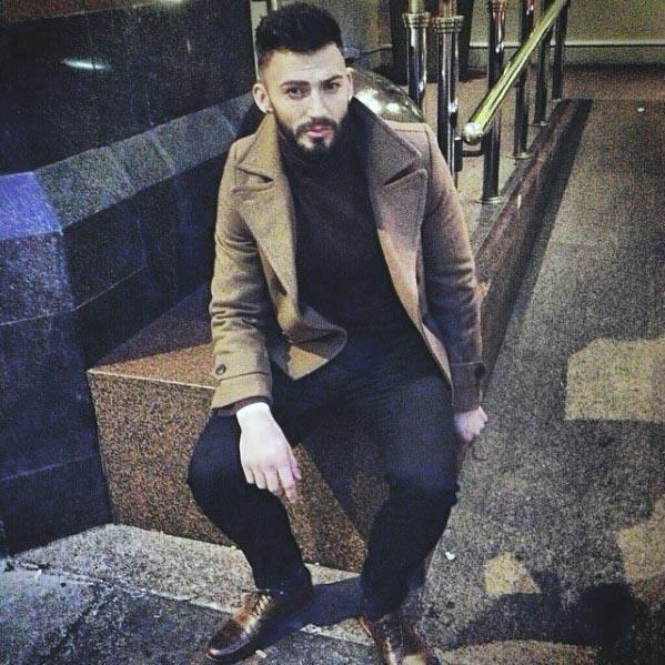 beard styles for men with short hair  temporary design ideas