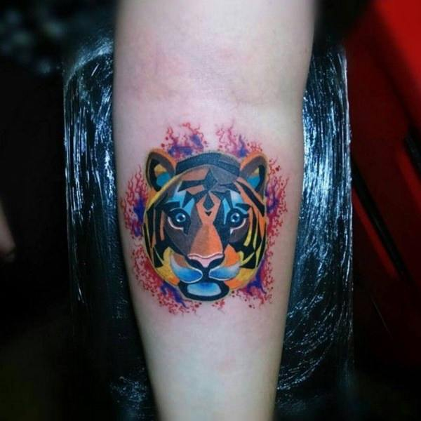 Excellent Tiger Tattoo Ideas For Men and guys