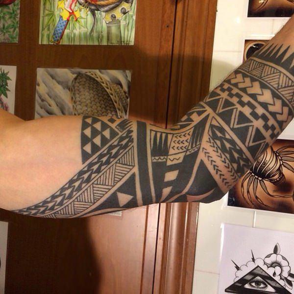 tattoo polynesian for male