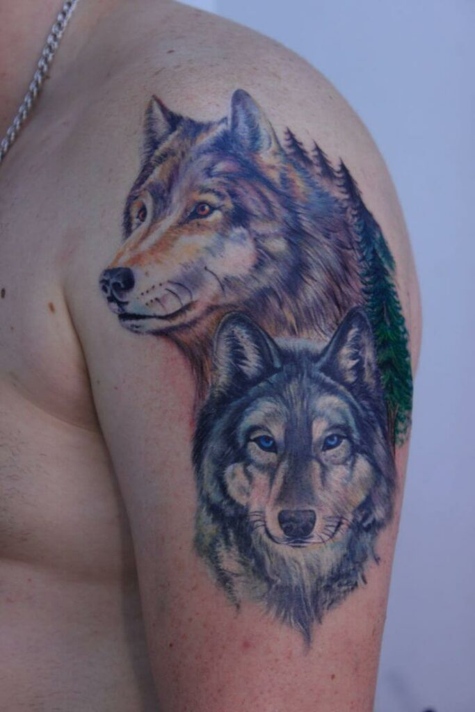 Cool Wolf Tattoo Ideas to Show Your Fierceness
