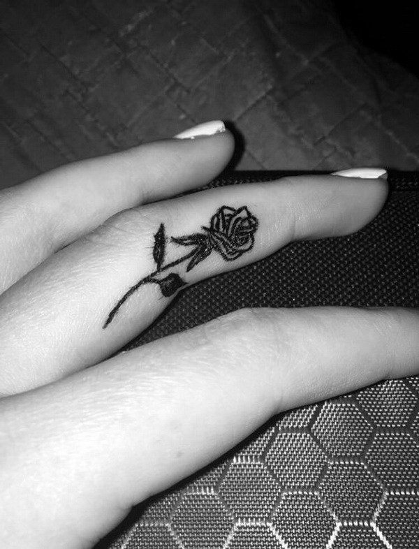 finger tattoos for lovers