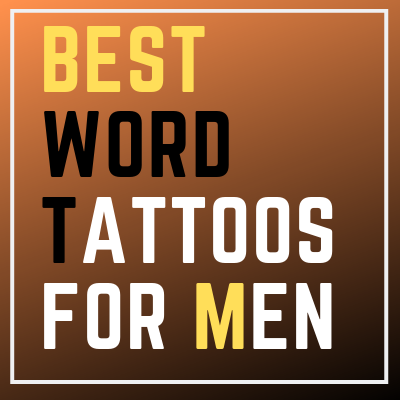 word tattoos designs