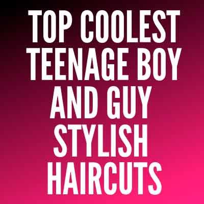Boy and Guy stylish Haircuts