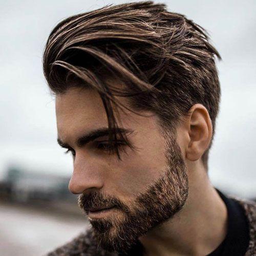 cool beard style for thin beard