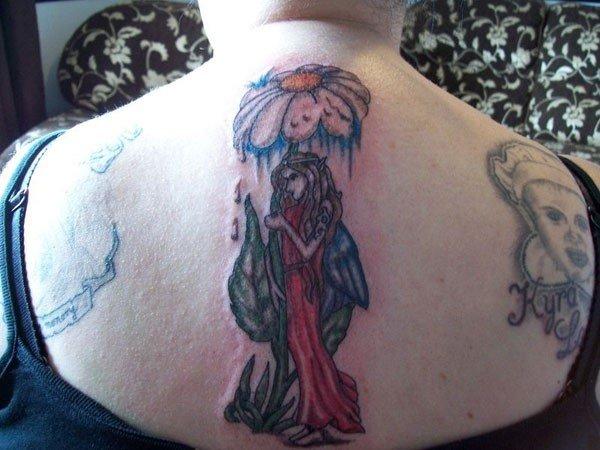 the fairy art tattoo designs
