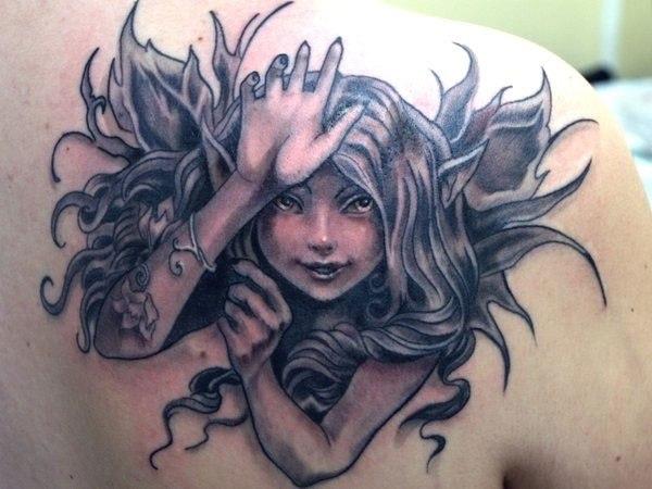 fairy tattoos for ladies