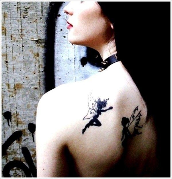 choose fairy tattoo designs on their