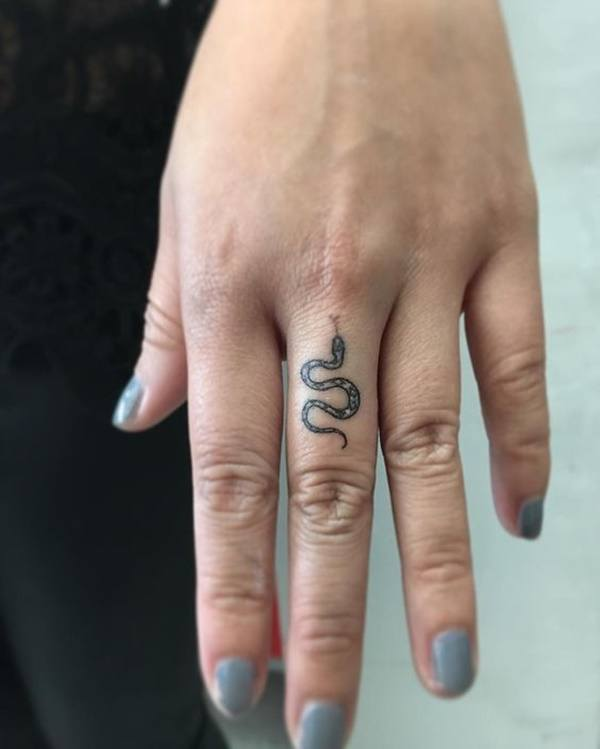 snake tattoo meaning female