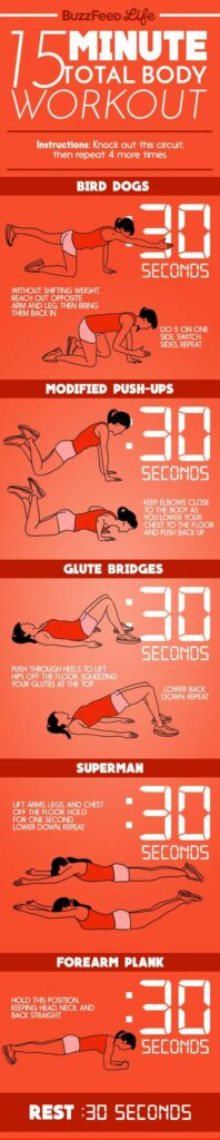 Minute Total Body Workout