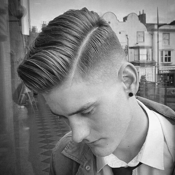 low fade haircut vs high fade