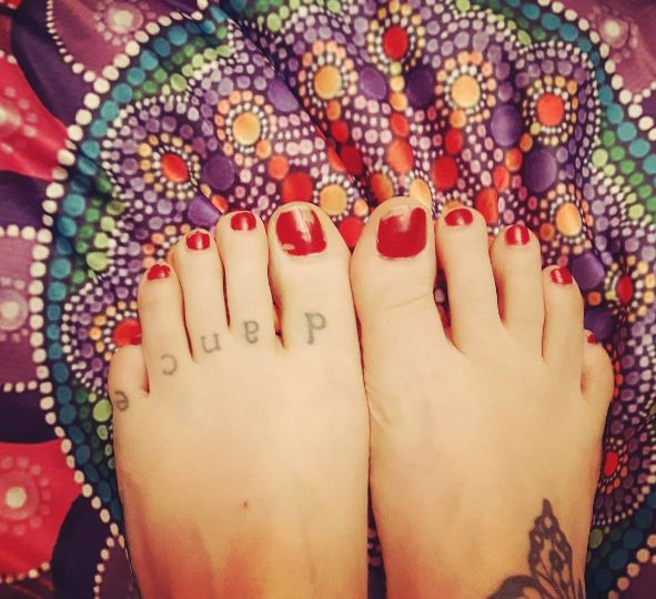 toe tattoos to cover corns