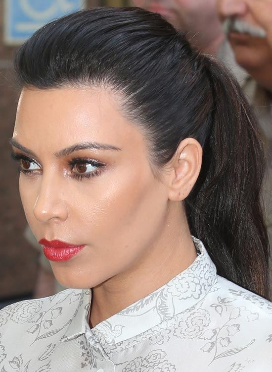kim kardashian's best hairstyles ever