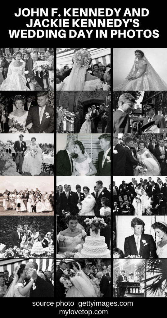president of the united states john f kennedy wedding photos