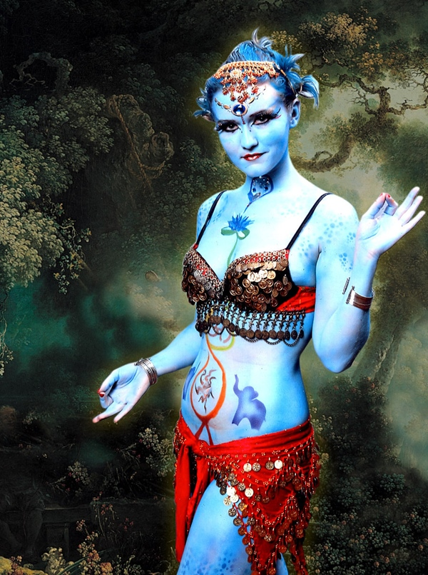 23 Cool Female Body Painting Ideas