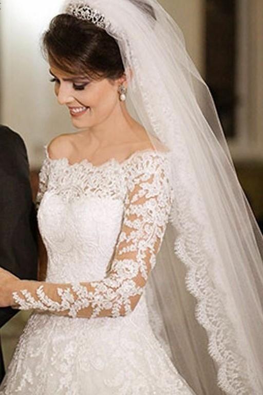 best bridal veil wedding dresses