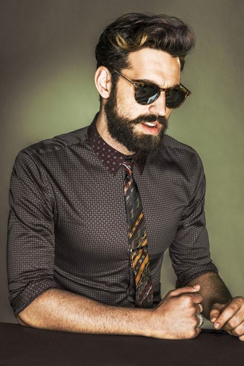 different types of beard styles for men