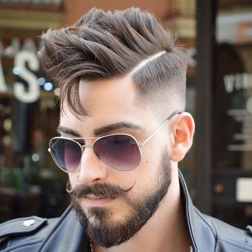 mela beard cut style