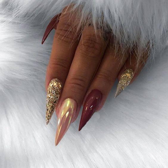 acrylic gel nail ideas