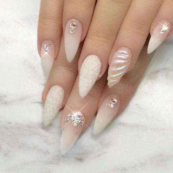 cool skin gel nail designs