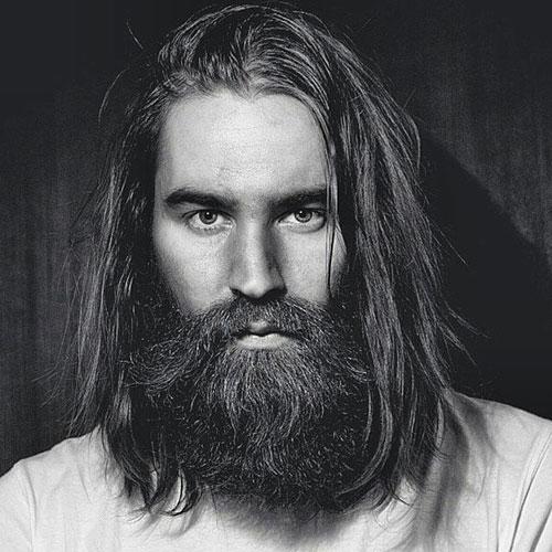 unique long  beard styles images