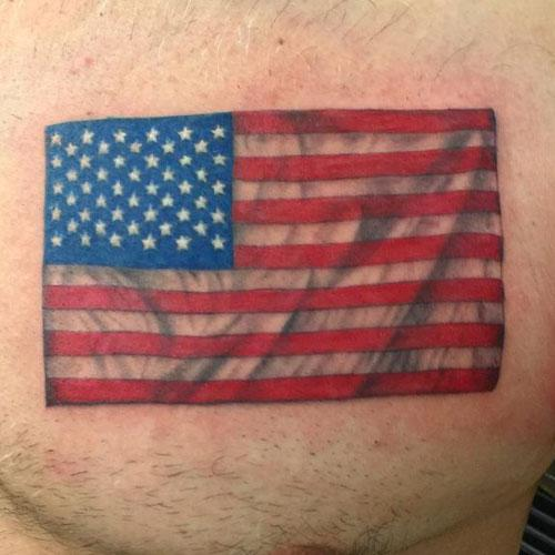american flag cover up tattoos