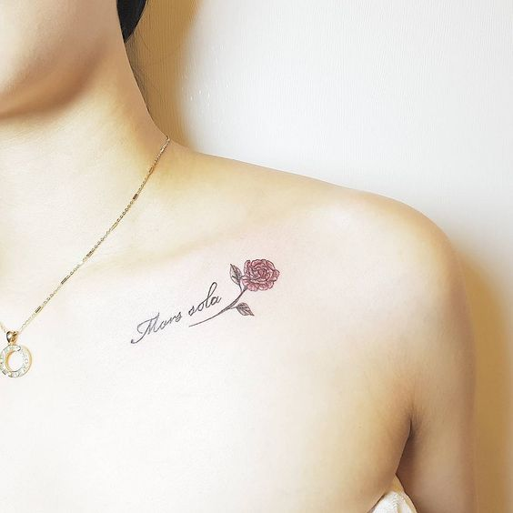 shoulder tattoos for females designs