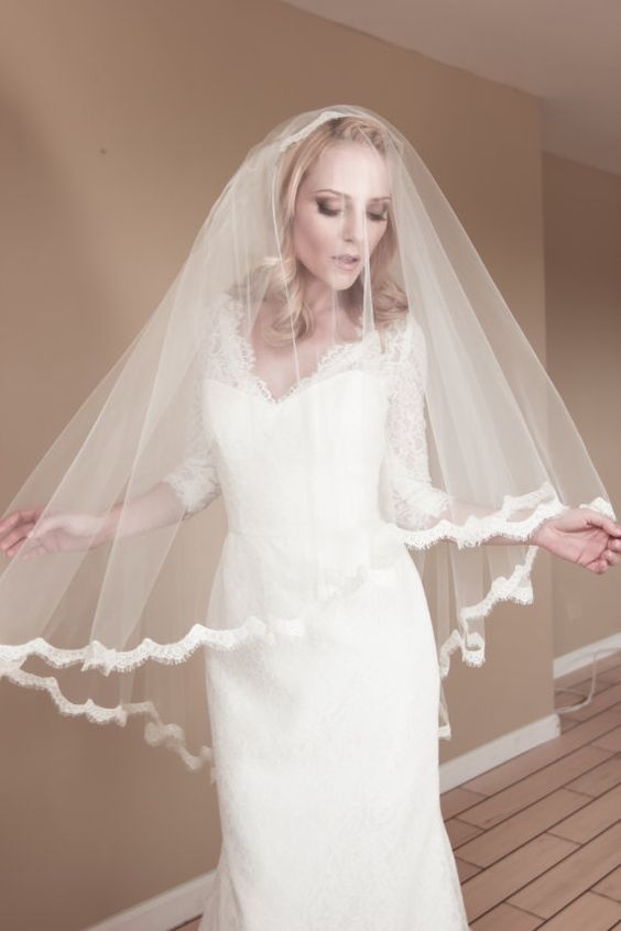 wedding veil that covers face
