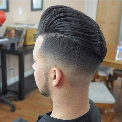 fade hair style for man