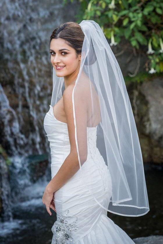 luxury bridal veils images