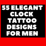 Men Clock Tattoo