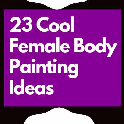 female body painting ideas