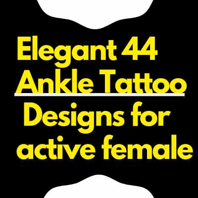 select elegant Ankle Tattoo