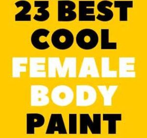 TEMPORARY FEMALE BODY PAINTING DESIGNS ART