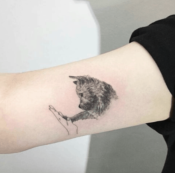 Tiny Animal Tattoo Designs