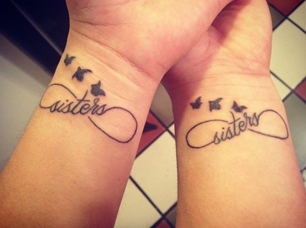 infinity tattoos for females