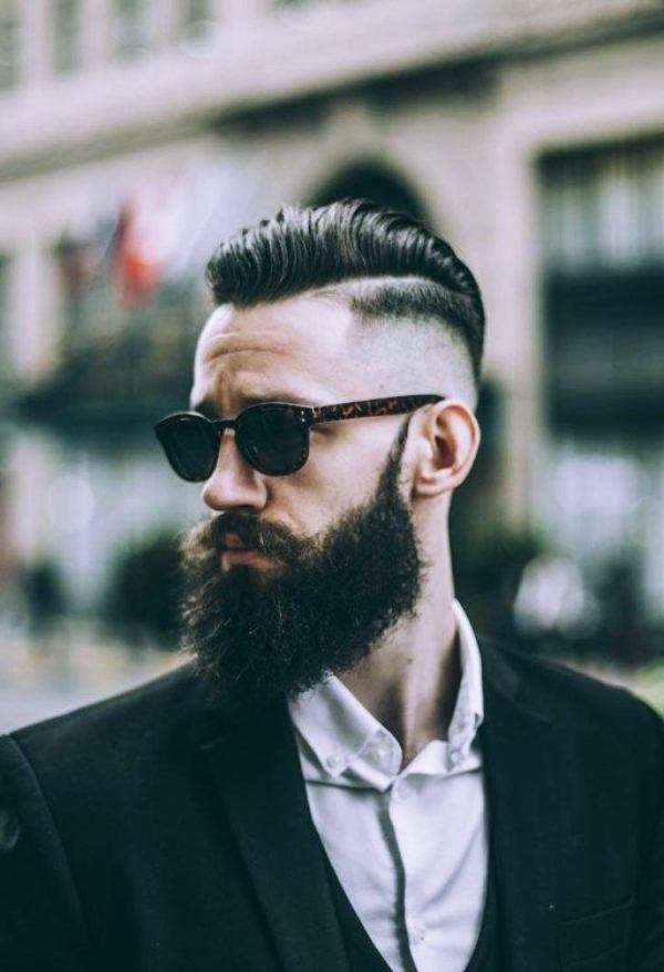 types of beard styles for face