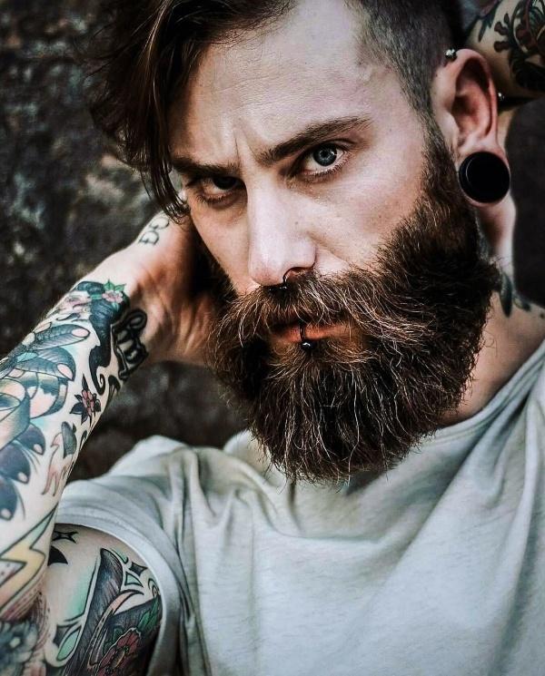 beard shape for fat face