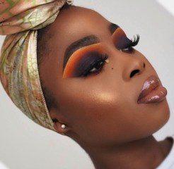 makeup ideas black skin